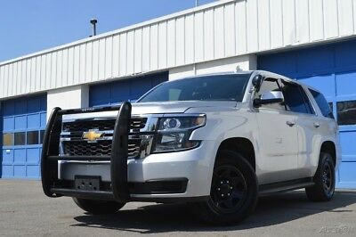 Chevrolet Tahoe Police 4X4 4WD Full Power Options Rear View Camera Cruise Control Heavy Duty Front Bar & More