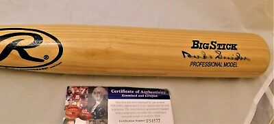 Duke Snider Signed Rawlings Big Stick Full Size Ba JSA COA HOF Dodgers Great
