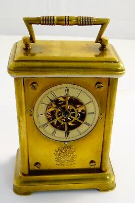 Waterbury Watch Co Carriage Clock, Very Rare Carriage Clock Form - rf28193