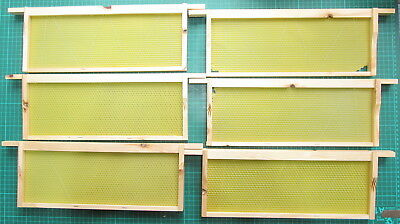 10 Sn4 National Beehive Super Frames End Of Line Seconds- Post Paid.