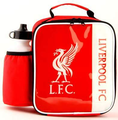 Liverpool FC Vertical Lunch Bag/Box and 600ml Bottle Set | Liverpool Lunchbox