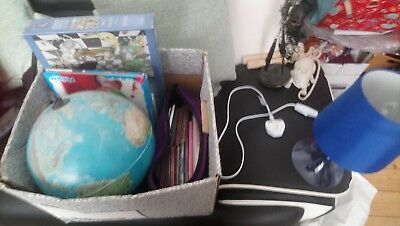 Big box of mixed items, car boot sale bundle, job lot