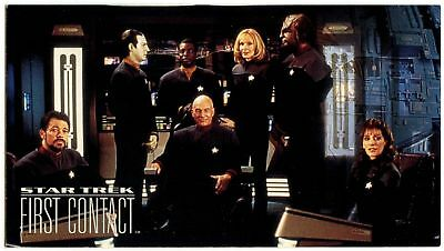 USS Enterprise Crew #59 Star Trek First Contact 1996 Fleer Trade Card (C1234E)