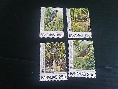 Bahamas 1995 Sg 1035-1038 Environment Protection (3Rd Series) Mnh (A)