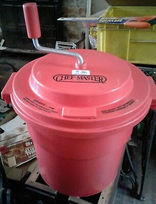 Chef Master Salad Spinner 5 Gallon - IN USED CONDITION