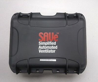 SAVe SIMPLIFIED AUTOMATED VENTILATOR IN HARD CASE WITH ACCESSORIES,impact