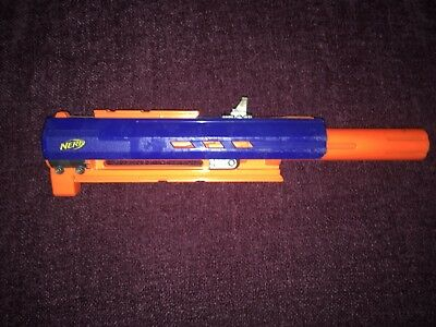 Nerf  Blaster Gun  Longstrike barrel extension Long strike sniper rifle blue