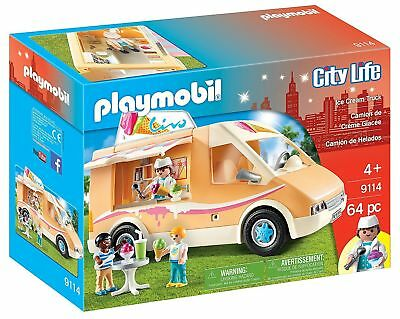 PLAYMOBIL - City Life - 9114 - Eiswagen - Ice Cream Truck - NEU OVP
