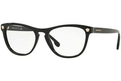 f94ad6fc926 New Authentic Versace Eyeglasses VE 3260 GB1 Made In Italy 53mm MMM