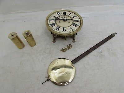 Antique Kienzle Twin Weight Vienna Regulator Clock Movement