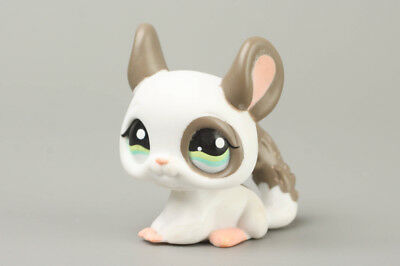 Littlest Pet Shop Gray Spotted Chinchilla lps #1018 Vintage