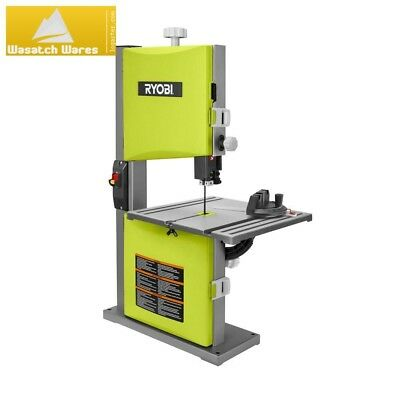 """Ryobi 2.5 Amp 9"""" Band Saw Compact Woodworking Power Tool Quick Release Tension"""