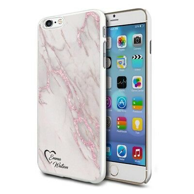 Personalised Marble Phone Case Cover for Apple Samsung Initial Text Name - F04