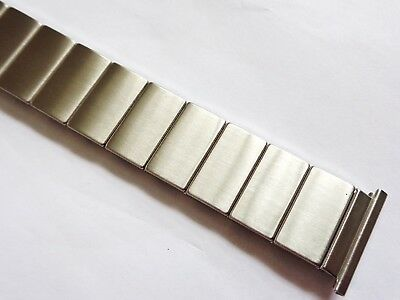 Vintage New Old Stock 20mm Rowi Stainless Steel Men's expandable Watch Bracelet