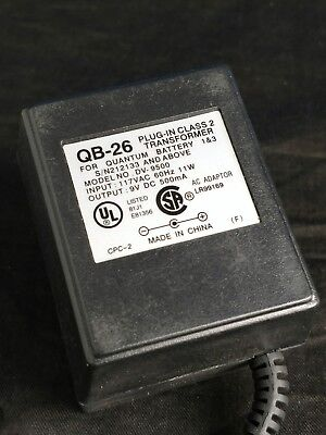 Quantum QB-26 charger for Battery 1&3