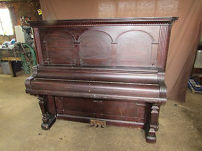 1895 Antique Vintage Kimball Chicago Piano #S146