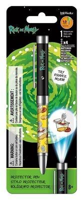 Rick And Morty - Dippin Sauce - Projector Ink Pen - Brand New - 4198