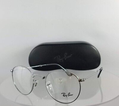 8787894b1ef Brand New Authentic Ray Ban RB 3532 Eyeglasses RB 3532V 2502 Silver Foldable