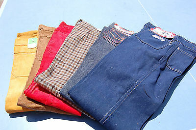 6 TROUSERS VINTAGE CHILD 4 X 5 years / 1 X 6 years / 1 X 12 years