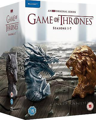 Game of Thrones: The Complete Seasons 1-7 - Blu-ray Region All Regions Free Ship