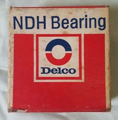 NOS Vintage General Motors (GM) Delco NDH Ball Bearing #55510 Sealed in Box