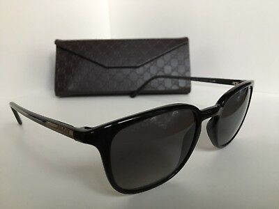e239a8f191 BRAND NEW MENS WOMANS Polarized Gucci Sunglasses (Black Silver Brown ...