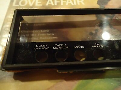 Marantz 2225 Stereo Receiver Parting Out Faceplate Insert
