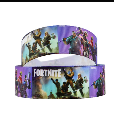 "Fortnite Ribbon 1m long 1"" wide"