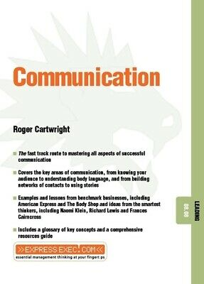 Express Exec: Communication: Leading 08.08 by Roger Cartwright (Paperback /