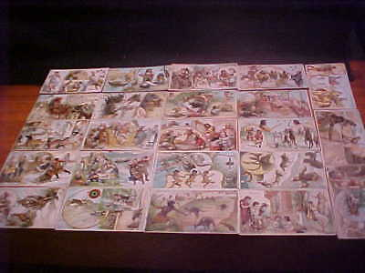 Arbuckle Bros coffee cards (23), Sports & Pastimes set, 1893, FREE SHIP