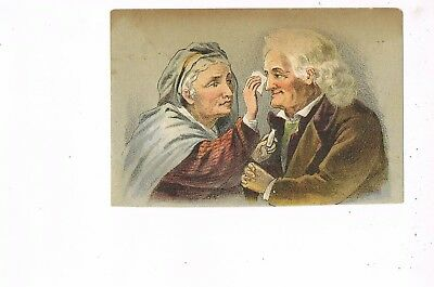 VICTORIAN ADVERTISING / TRADE Card       DR. ISAAC THOMPSON'S EYE WATER
