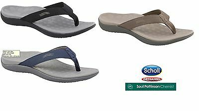Scholl Orthaheel Waves II ORTHOTIC Mens