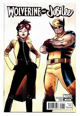 Wolverine and Jubilee #1 2 3 4 Full Set Marvel Comics 2011 Curse of the Mutants