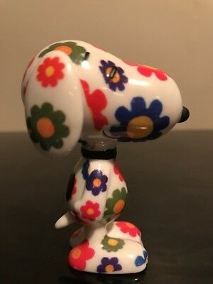 Department 56 Peanuts Snoopy Flower Power Pup‼️Porcelain New Hippie Snoopy NWOB