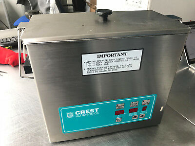 Crest CP500D Ultrasonic Cleaner