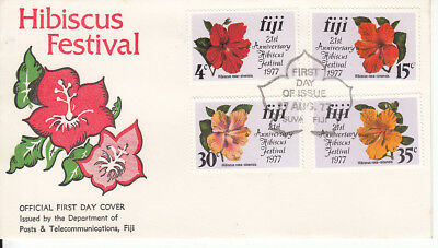 PNG 1977 Hibiscus Festival FDC