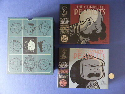 Coffrets 2 albums The complete Peanuts - 1959 to 1962 - Charles Schultz