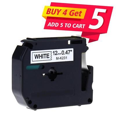 1 M-K231 Compatible Brother P-touch Label Tape PT-65 Label Maker 12mm World Cup