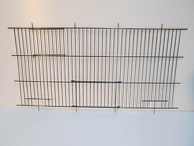 """Canary Cage Fronts 12"""" x 24"""" In Quantities Of 1, 6 Or 12 Free Postage! NEW"""