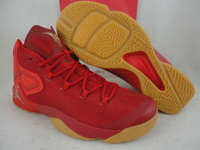 best service 52ee1 cd832 Nike Jordan Melo M12, Gym Red Metallic Gold   Challenge Red, 827176 696,