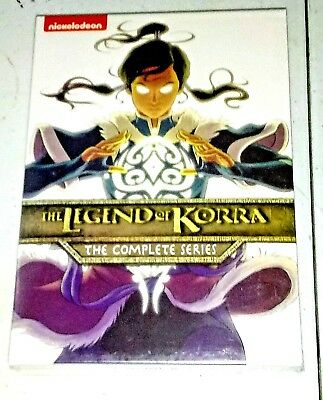 Brand New! The Legend Of Korra: The Complete Series. 8-Disc Box Set. Ships Free