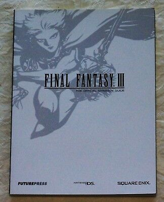 Final Fantasy III Official Strategy Guide by Future Press