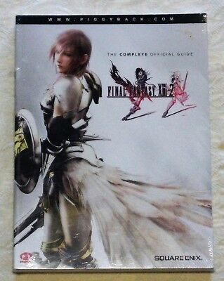 Final Fantasy XIII-2 Official Strategy Guide by Piggyback