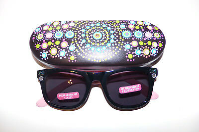 Artistic Painted Glasses case with Custom Designed Sungasses