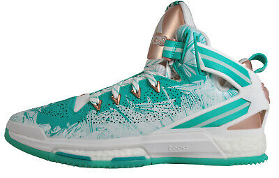 promo code 7bbba e5391 Adidas D Rose 6 Boost Limited Edition Pro Mens Basketball Shoes Trainers  Green