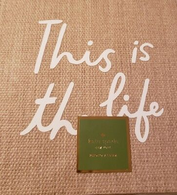 kate spade photo album this is the life