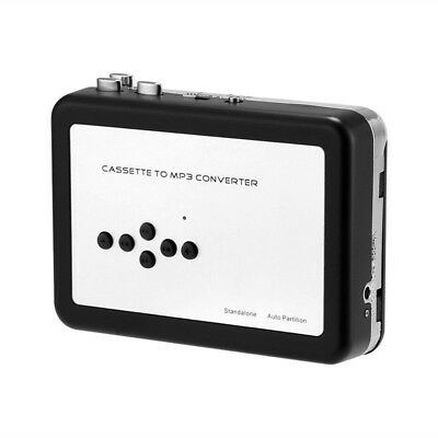 Portable Tape to PC USB Cassette-to-MP3 Converter Adapter Audio Music Player HOT