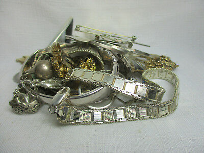 Large Lot of Vintage Sterling Silver WEARABLE Jewelry - NO SCRAP - 280 Grams