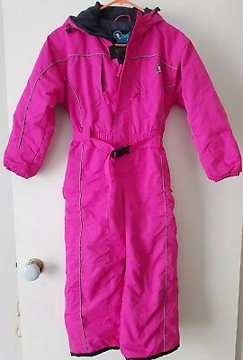 Girls Snowsuit - Size 8 (Chute) -  excellent preloved condition