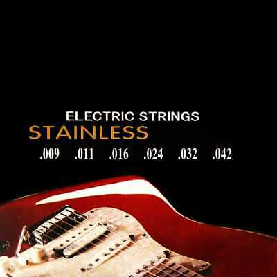 Kit Cuerdas Profesional para Guitarra Electrica Nickelplated 350L Metal M04